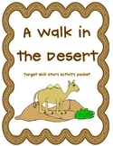 A Walk In The Desert: Activity Resource Packet