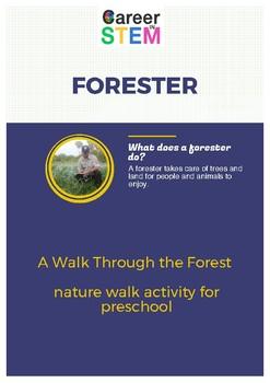 A Walk Through the Forest - nature walk activity for preschool