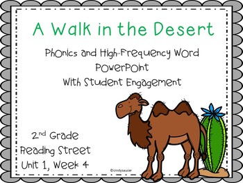 A Walk in the Desert, 2nd Grade, Reading Street, Interactive PowerPoint