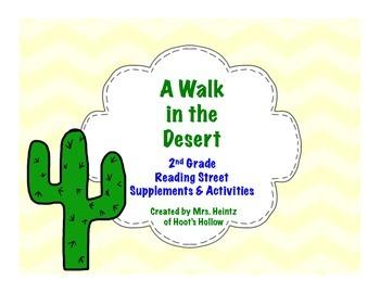 A Walk in the Desert: 2nd Grade Supplements & Activities