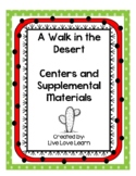 A Walk in the Desert 2nd grade Centers and Printables for