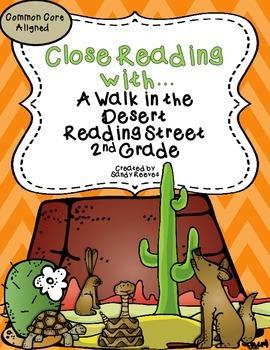 A Walk in the Desert Close Reading 2nd Grade Reading Street CCSS