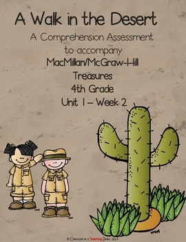 A Walk in the Desert - Comprehension Check