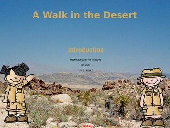 A Walk in the Desert - Lesson Introduction