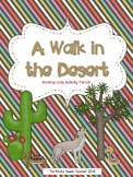 A Walk in the Desert Printable Reading Comprehension Activity Packet
