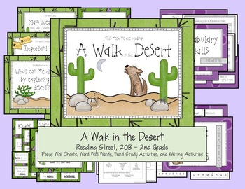 A Walk in the Desert - Reading Street, 2013, 2nd Grade