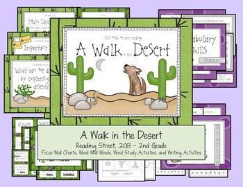 A Walk in the Desert - Reading Street, 2013, 2nd Grade