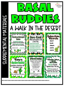 A Walk in the Desert -Reading Street (2013) 2nd Grade Unit 1 Week 4