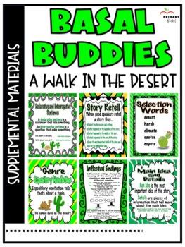 A Walk in the Desert -Reading Street (2013) 2nd Grade Unit