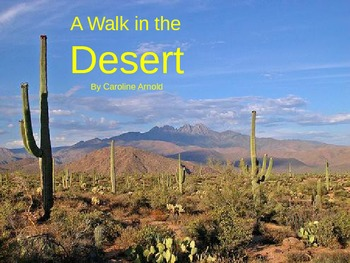 A Walk in the Desert - Story Brought to Life