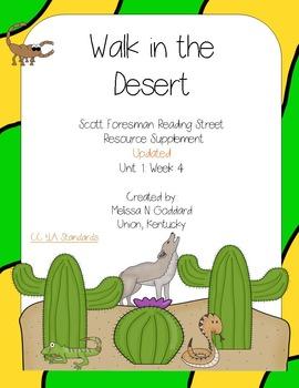 A Walk in the Desert : Reading Street Scott Foresman : Gra