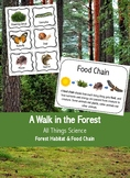 Forest Habitats and Food Chains- A Walk in the Forest