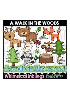 A Walk in the Wood Clipart Collection