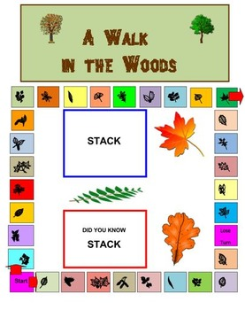 A Walk in the Woods Board Game