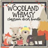 A Walk in the Woods Classroom Decor GROWING BUNDLE