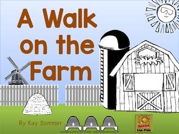 A Walk on the Farm {directional words}