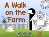 A Walk on the Farm {directional words}