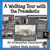 A Walking Tour with the Presidents Centers Activity w/Matc