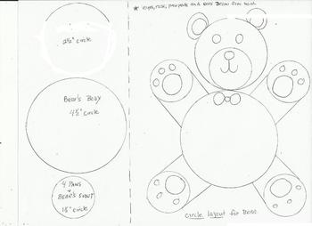 A Warm Winter Fuzzy Wuzzy Bear draw and write about your favorite stuffed animal