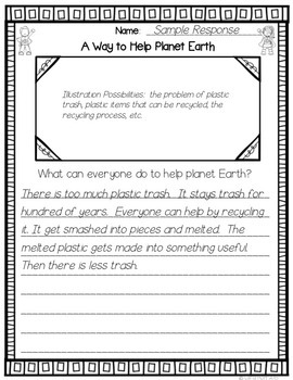 A Way to Help Planet Earth - Common Core Connections - Treasures Grade 2