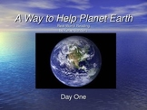 A Way to Help Planet Earth Guided Reading lesson