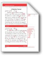 A Weather Journal (Gr. 4/Week 34)