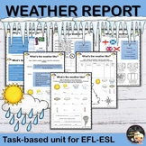 A Weather Report - EFL Worksheets