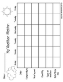 A Weather Station Recording Sheet Freebie