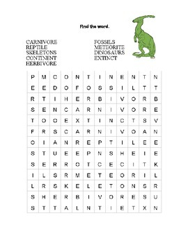 Dinosaurs-Webquest