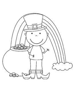 Saint Patrick's Day - Coloring / Ideas for Students or the Classroom
