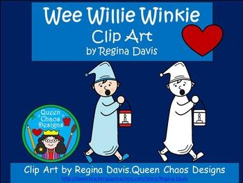 A+ Wee Willie Winkie Clip Art