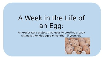 A Week in the Life of an Egg