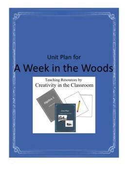 A  Week in the Woods Novel Unit Plus Grammar