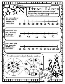 CHRISTMAS Math Worksheets~A Week of Seasonal Math Fun!