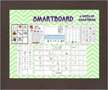 """A Week of """"Smartness"""" -A  Week of Smartlessons – A E I O U Vowels"""