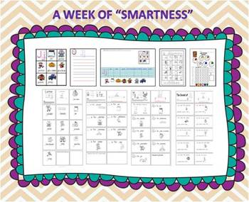 "A Week of ""Smartness"" -A  Week of Smartlessons – Letter Jj"
