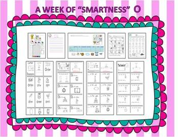 """A Week of """"Smartness"""" -A  Week of Smartlessons – Letter Oo"""