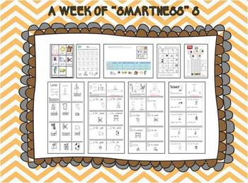 """A Week of """"Smartness"""" -A  Week of Smartlessons – Letter Ss"""
