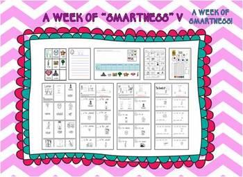 "A Week of ""Smartness"" -A  Week of Smartlessons – Letter Vv"