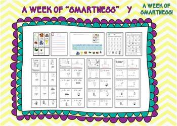 """A Week of """"Smartness"""" -A  Week of Smartlessons – Letter Yy"""