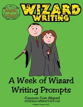 A Week of Wizard Writing Prompts