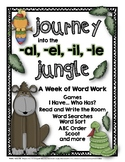 A Week of Word Work: Journey into the Schwa -al, -el, -il, -le Jungle