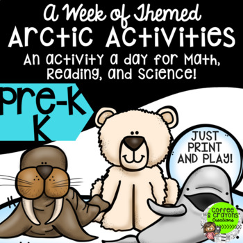 A Week's Lesson Plan about the Arctic NO PREP