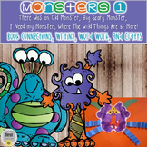 Monsters 1...I Need my Monster, Where the Wild Things Are & More