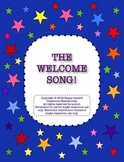 A Welcome Song - Sing Everyone's Name! with Cute Name Tags