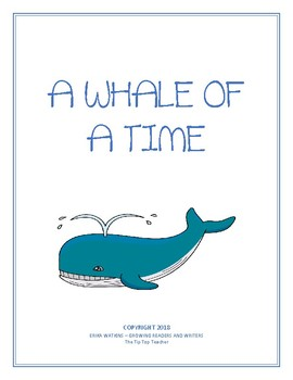 9503dfb6392d53 Nonfiction Reading Comprehension  A Whale of a Time by The Tip Top Teacher