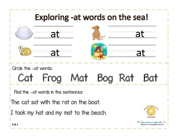 A Whale's Tale Activity Pack