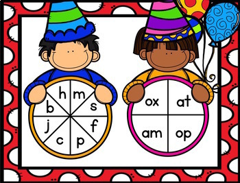 Read Across USA Day: A Whimsical Birthday - Real and Silly CVC Word Sort