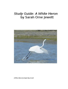 """A White Heron"" by Sarah Orne Jewett, Essential Questions and Study Guide"