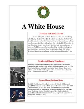 A White House Christmas-History